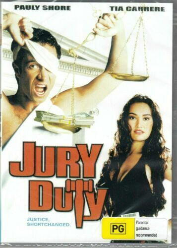 Jury Duty DVD Pauly Shore Brand New and Sealed Australian Release