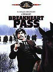 Breakheart Pass DVD Charles Bronson Brand New and Sealed Australian Release