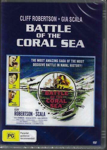 Battle of the Coral Sea DVD Cliff Robertson Brand New and Sealed Australia