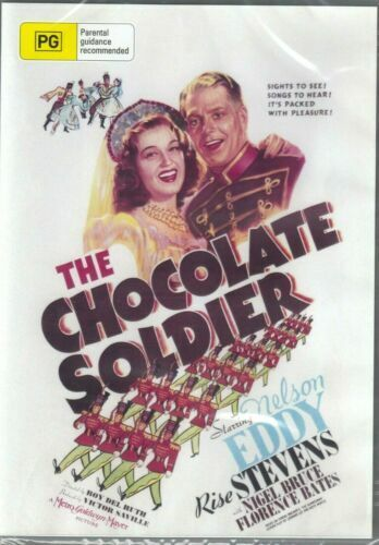 The Chocolate Soldier DVD Nelson Eddy Brand New and Sealed Australian Release