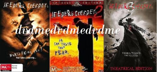 Jeepers Creepers Trilogy 1 2 3 DVD Brand New and Sealed Australian Release
