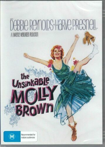 The Unsinkable Molly Brown DVD Debbie Reynolds Brand New and Sealed Australia