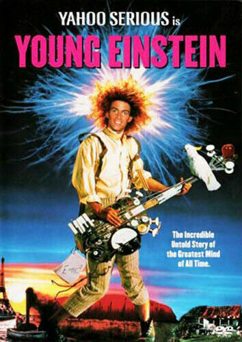 Young Einstein DVD 1988 Yahoo Serious Brand New and Sealed Australian Release