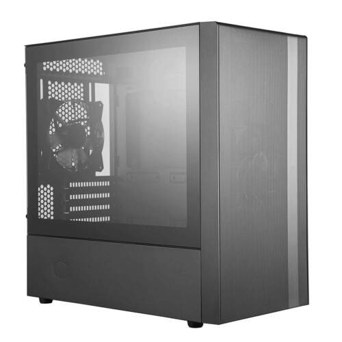 Cooler Master MasterBox NR400 Gaming PC Case Mid-Tower mATX Tempered Glass Black