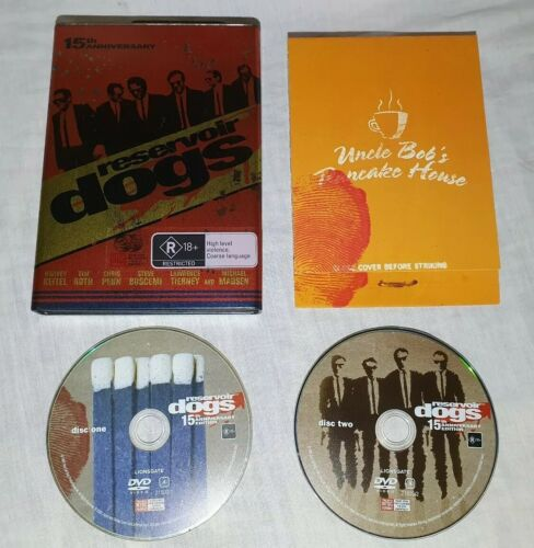 RARE Reservoir Dogs 15th Anniversary Limited Edition Gas Can DVD. NTSC Region 1