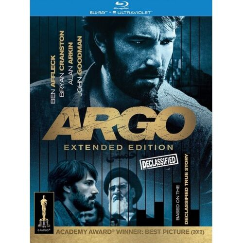 Argo Declassified Extended Edition (Ben Affleck) Blu-Ray Region B New In Stock