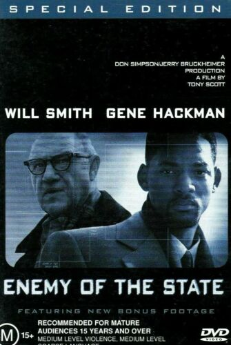 Touchstone Pictures Special Edition Movie ENEMY OF THE STATE DVD (M 15+)