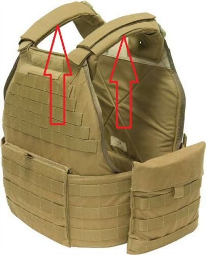 EAGLE US MILITARY USMC MTV TACTICAL VEST UNIVERSAL PLATE CARRIER SHOULDER PADSOther Current Field Gear - 36071