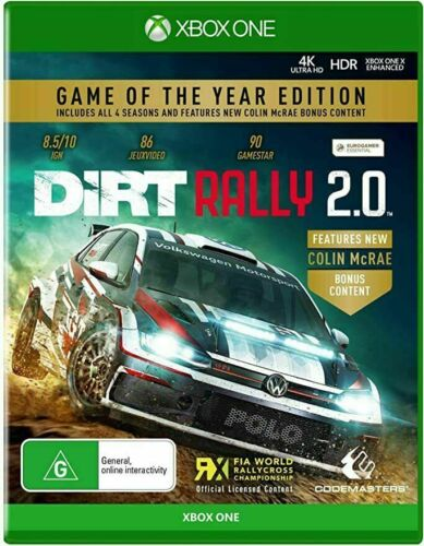 Dirt Rally 2 Game of the Year Edition Xbox One Brand New Sealed