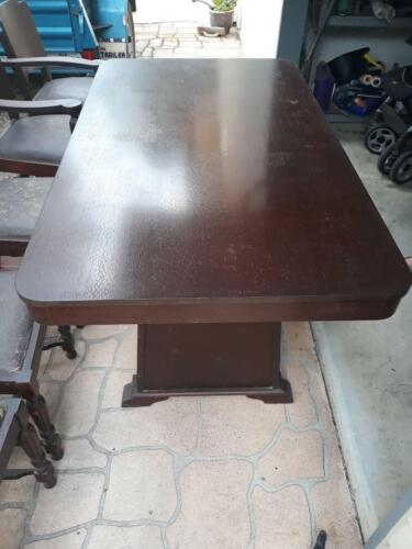 Solid Silky Oak Dining Table