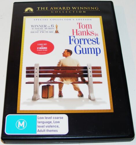 FORREST GUMP--- (DVD, 2007, 2-Disc Set)
