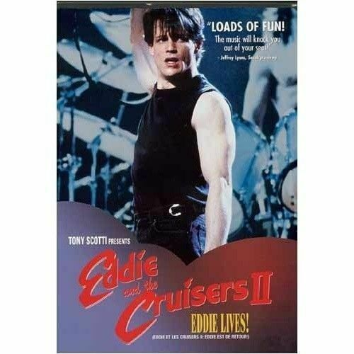 Eddie and the Cruisers II 2 DVD New and Sealed Australian Release
