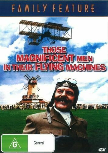 Those Magnificent Men in Their Flying Machines DVD New Sealed Australian Release