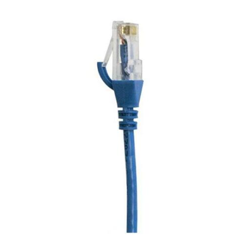 Cat 6 Rj45 Rj45 Ultra Thin Lszh Network Cables Blue