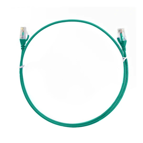 4M Cat 6 Rj45 Rj45 Ultra Thin Lszh Network Cables Green