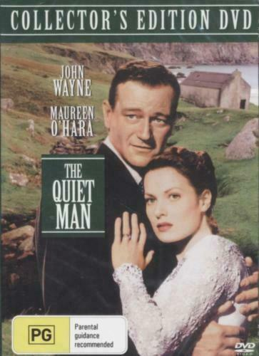 The Quiet Man DVD John Wayne Collectors Edition New & Sealed Australian Release