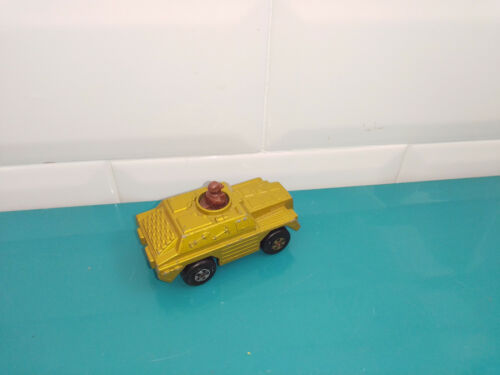 0103204 voiture miniature Matchbox rolamatics tank n°28 stoat