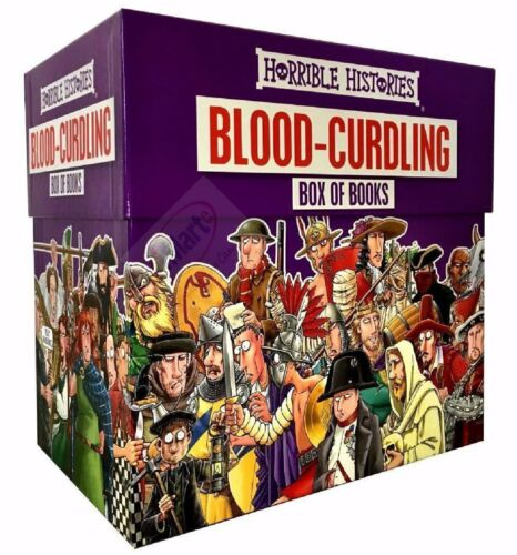 Horrible Histories Blood Curdling Collection 20 Books Box Set