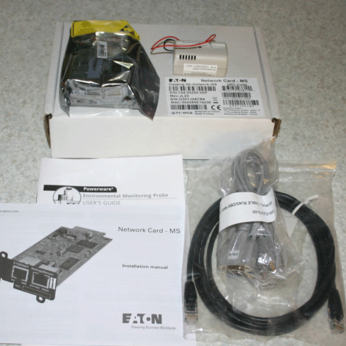 Eaton Network Card MS and Powerware EMP 710-00255-08 103003637-5501, card sealed
