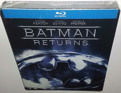 BATMAN RETURNS (2013) BRAND NEW SEALED REGION FREE LIMITED STEELBOOK BLURAY