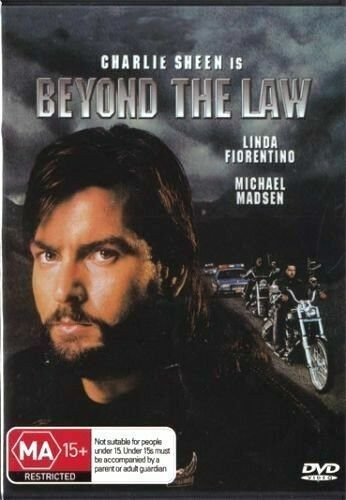 Beyond the Law DVD Charlie Sheen Brand New and Sealed Australian Release