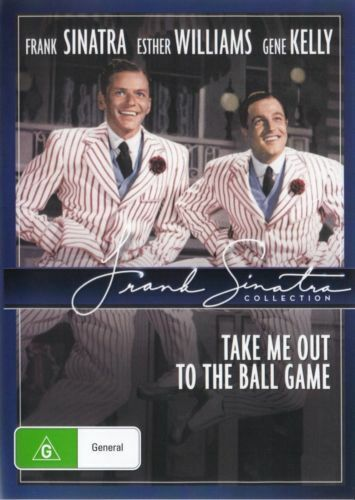 Take Me Out to the Ball Game DVD Frank Sinatra Brand New Australian Release