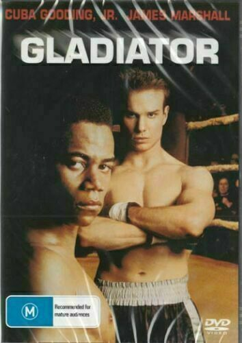 Gladiator DVD Cuba Gooding Jr New and Sealed Plays Worldwide