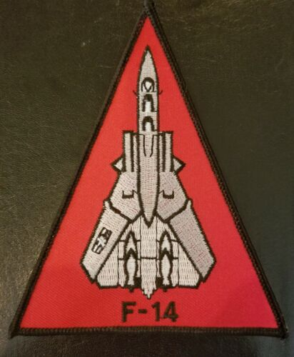 F-14 TOMCAT US NAVY 4 BY 4 1/2 INCHES PATCH - MADE IN THE USA!Navy - 48826