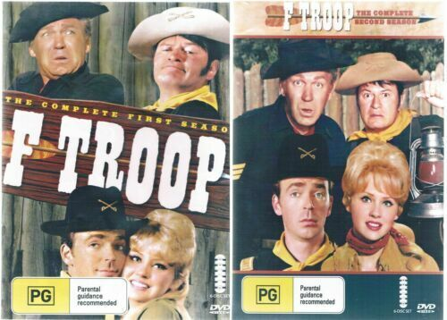 F Troop DVD The Complete Seasons 1 & 2  Two box Sets 12 Disc New Australia