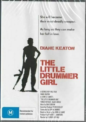The Little Drummer Girl DVD Diane Keaton Brand New and  Sealed Plays Worldwide