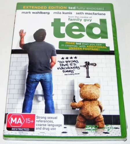 TED ---- (Dvd, New & Sealed)