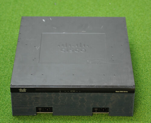 Cisco CISCO3925/K9 3925 Integrated Services Router -1 YEAR WARRANTY
