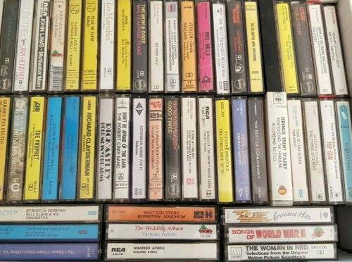 Various Cassette Tapes Vintage, Retro, Collectable