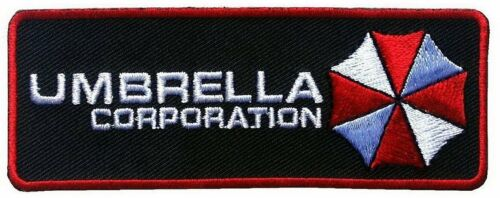 Umbrella Corporation Resident Evil VELCRO® BRAND Hook Fastener PatchParches - 4725