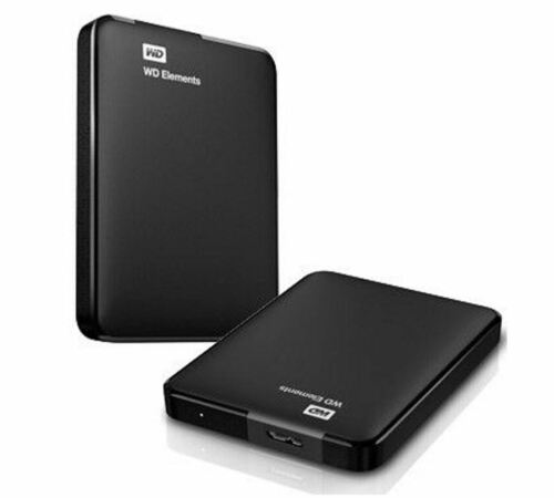 Western Digital WD Elements 1TB USB3.0 External Hard Drive Light Weight Portable