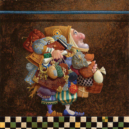 James CHRISTENSEN Hold to the Rod,The Iron Rod Limited Edition Print art