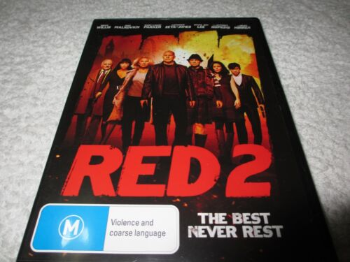 Red 2 (DVD, 2014) OO1