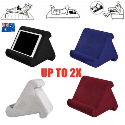 Tablet Pillow Stand For iPad Phone Reading Bracket Holder Cushion Pad Portable