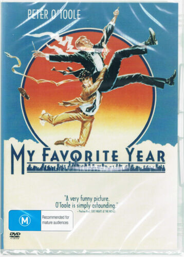 My Favorite Year DVD Peter O'Toole Brand New and Sealed Australian Release