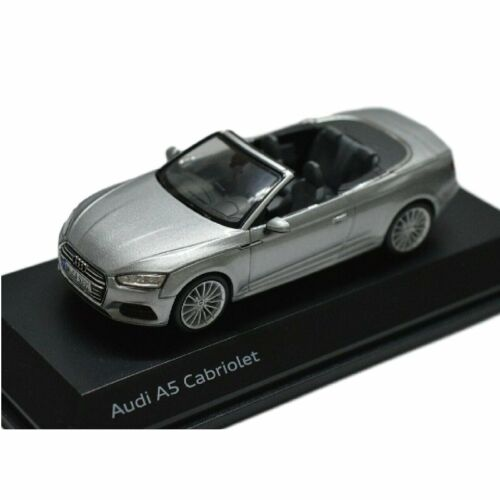 SPARK Audi A5 Cabriolet Silver 1:43 Collection voiture miniature