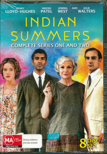 Indian Summers Complete Series 1 and 2 Season One and Two DVD NEW Region 4