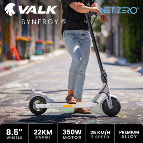 【EXTRA10%OFF】VALK Electric Scooter Motorised Adult Riding e Commuter <br/> 10% OFF. Use code MYTTAKE10. Ends 01/10. $150 Max disc.
