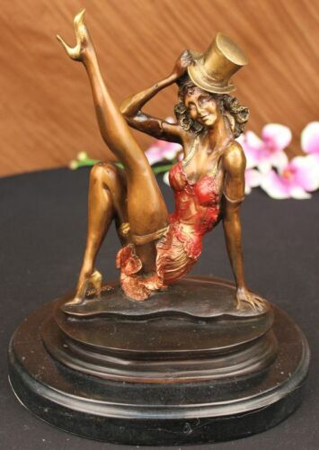 Signed and Numbered Limited Edition Broadway Dancer Collett Bronze Statue DEAL