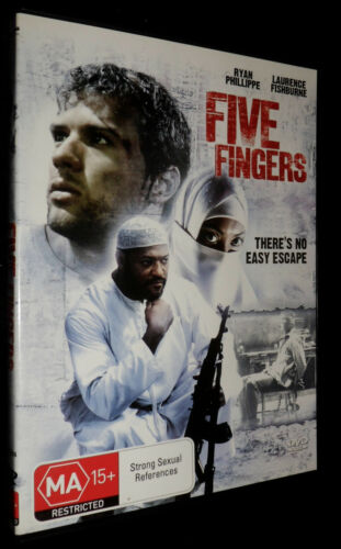 FIVE Fingers DVD  Ryan Phillippe, Laurence Fishburne R4