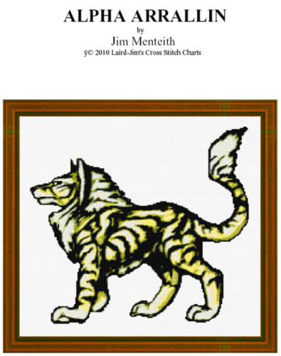 ALPHA ARILLIN - CROSS STITCH CHART - PDF file