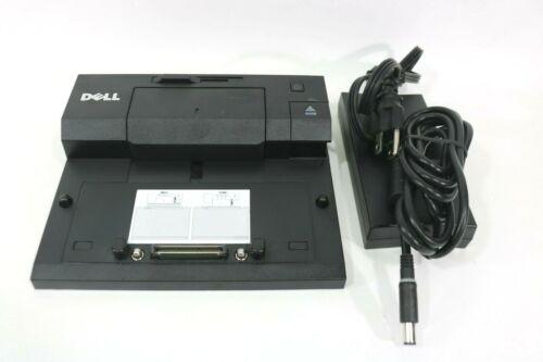 DELL PRO3X E-Port Replicator II Docking Station USB 3.0 with 130W AC Adapter