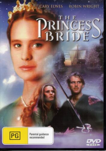 THE PRINCESS BRIDE DVD Cary Elwes & Robin Wright NEW & SEALED Free Post