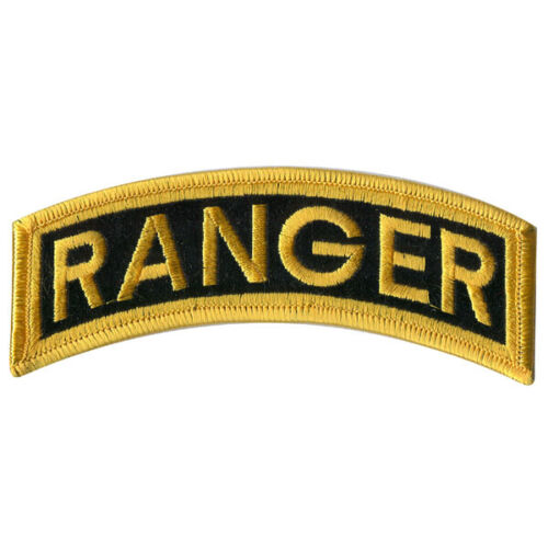 US ARMY RANGER TAB 5 INCH PATCH - MADE IN THE USA!Army - 48824