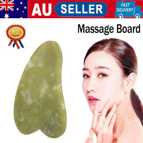 Natural Quartz Stone GuaSha Facial Face Neck Body Care Gua Sha Board Massager
