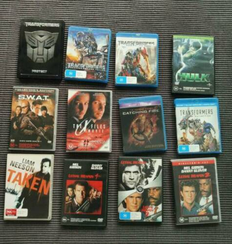 Classic DVD and Blu-Ray Movies <br/> All prices from $2